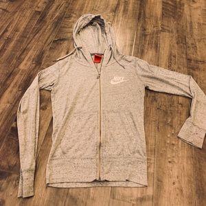 Nike zip hoodie vintage style extra small